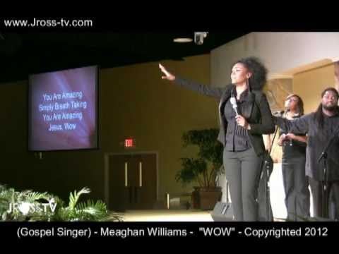 """James Ross @ Meaghan Williams - New Song """"WOW"""" - Copyrighted 2012 - www.Jross-tv.com"""