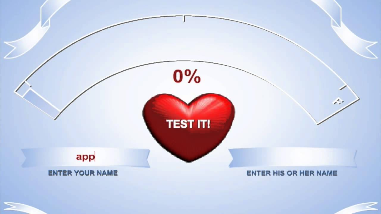 Online Games Love Tester