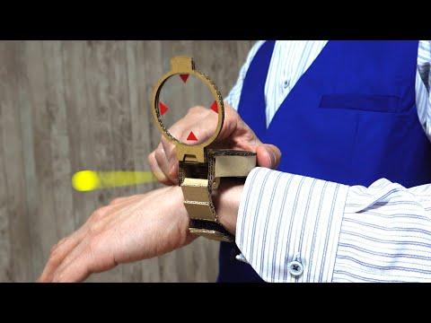 名探偵コナン/腕時計型麻酔銃を作る/ダンボール工作/Detective Conan's Watch Cardboard DIY