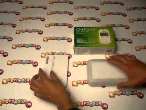 Глюкометр One Touch SelectSimple - «Система контроля