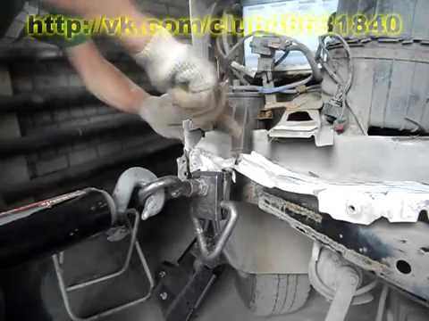 Газель. Ремонт прибитой кабины. Кузовной ремонт.
