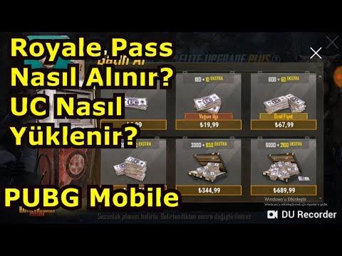 UC NASIL YÜKLENİR? ROYALE PASS NASIL ALINIR? - PUBG Mobile