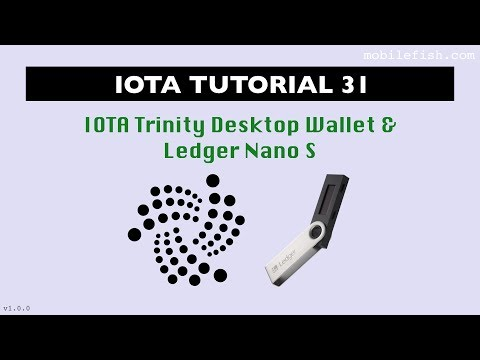 IOTA tutorial 31: IOTA Trinity Desktop Wallet and Ledger Nano S
