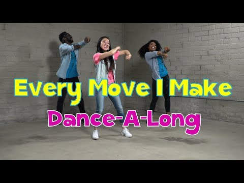 Every Move I Make  DanceALong with Lyrics  Kids Worship