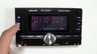 Обзор 2 DIN магнитолы SWAT WX-212UBW