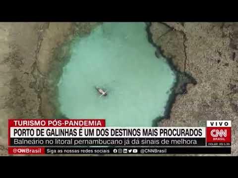 Pós-pandemia: Porto de Galinhas será o destino preferido dos Brasileiros