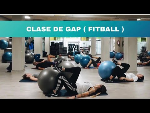 Clase de GAP ( Gluteo, Abdomen, Pierna) con Pelota de Fitball