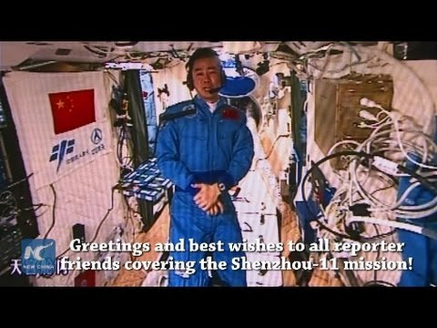 I have finally learnt to run: Xinhua journalist's space journal