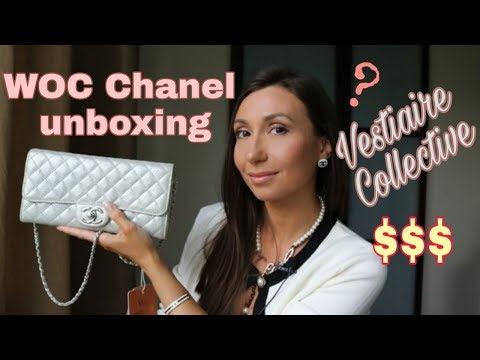 339b85829f6946 UNBOXING MY FIRST CHANEL BAG / PRELOVED WOC FROM VESTIAIRE COLLECTIVE