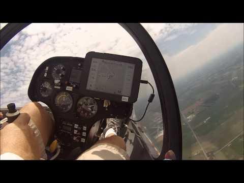 Flying SZD 48 1 Jantar Std 2 in July