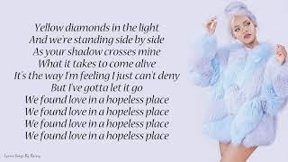 Rihanna - We Found Love ft. Calvin Harris | Lyrics Songs