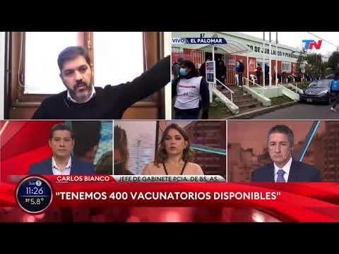 Vacunas: No están arrumbadas como hicieron Vidal y Macri