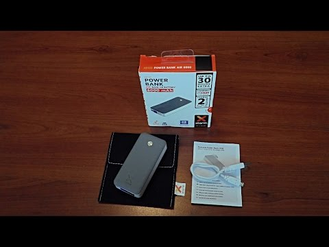 Xtorm Power Bank unboxing