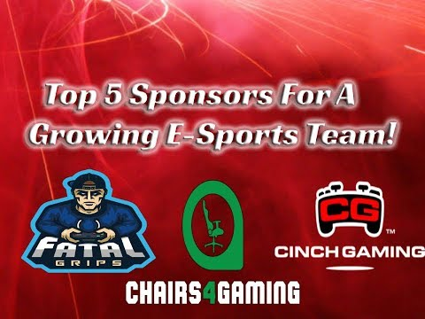 Top 5 Sponsors For A Growing E-Sports Team/Clan!
