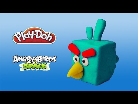 Play doh angry birds space ice bird youtube - Angry birds space gratuit ...