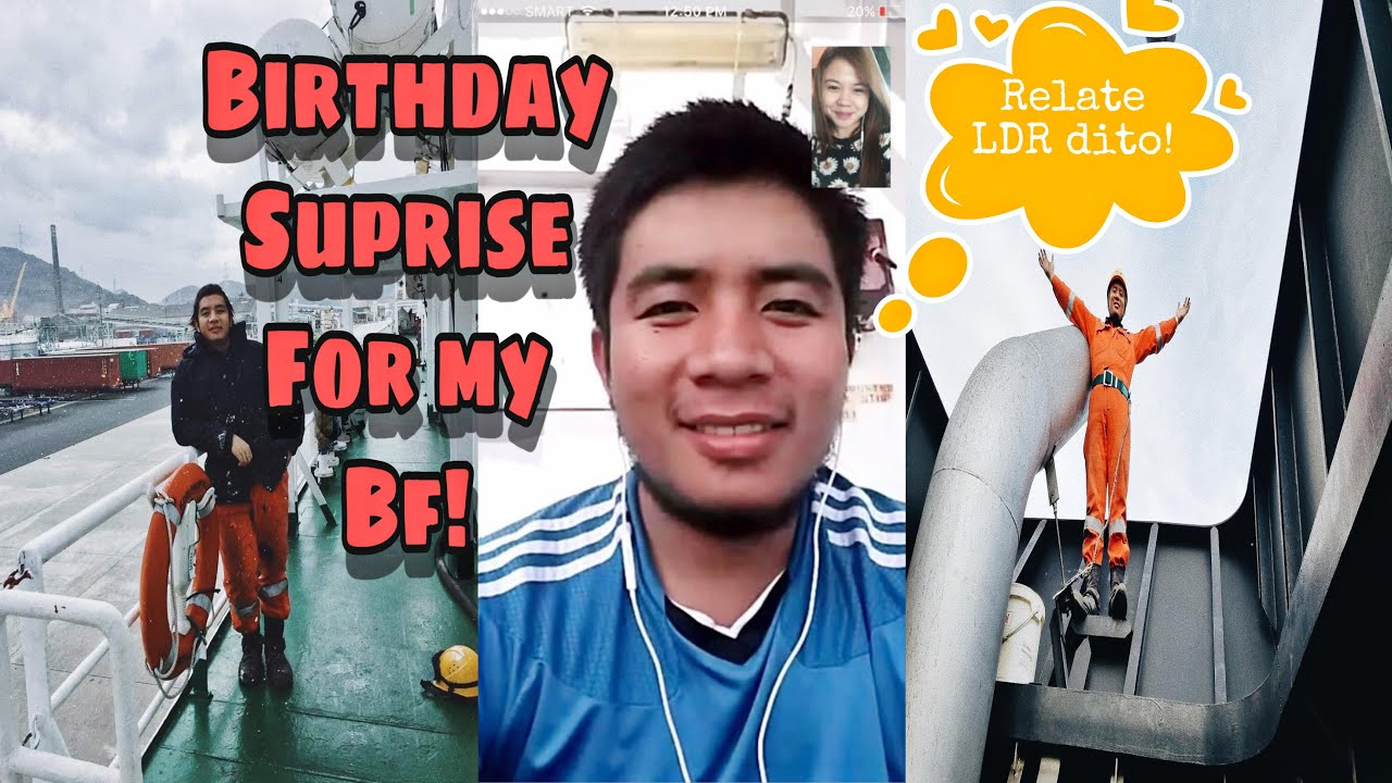 Long Distance Relationship - Birthday Surprise for my boyfriend  (Kenneth@24) ❤️