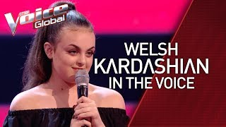 Welsh KIM KARDASHIAN surprises coaches in The Voice Kids | STORIES #35