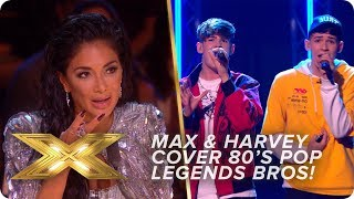 Twin doubles? Max & Harvey cover 80s pop legends Bros   Live Week 1   X Factor: Celebrity