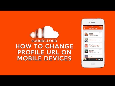 How to Change SoundCloud Profile URL on Mobile Devices