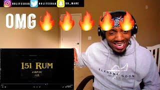 Barology class was hard today lol! | J.I.D - 151 Rum REACTION