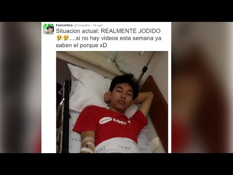 FERNANFLOO DEJA DE SUBIR VIDEOS POR DENGUE