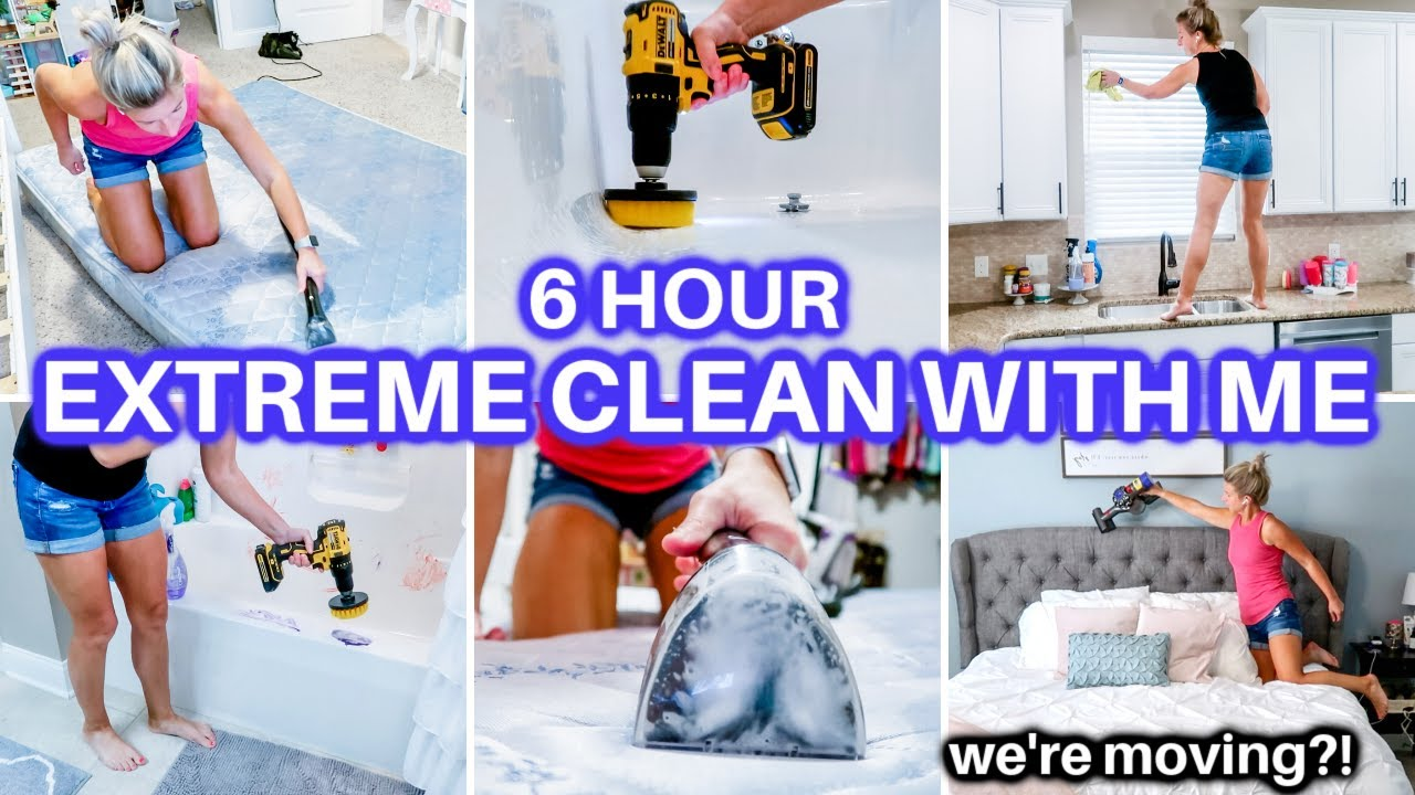 Download *EXTREME* CLEAN WITH ME 2021   ALL DAY SPEED CLEANING MOTIVATION   CLEANING ROUTINE   DECLUTTER