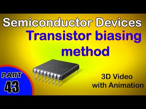 transistor-biasing-method-semiconductor-class-12-physics-subject-notes-lectures-cbse-iit-jee-neet