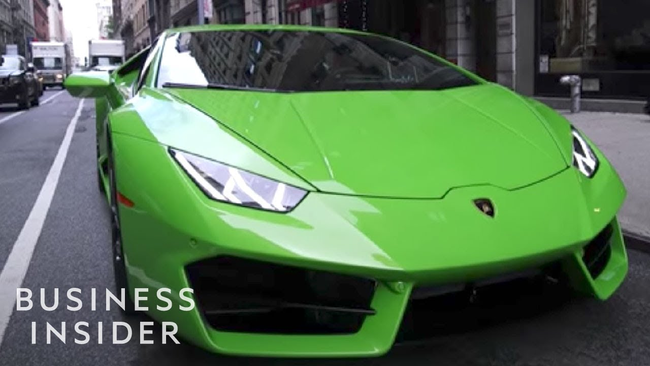 What It's Like To Drive The Cheapest Lamborghini - YouTube
