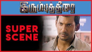 Irumbu Thirai - Super Scene 8   Vishal   Arjun Sarja   Samantha Akkineni