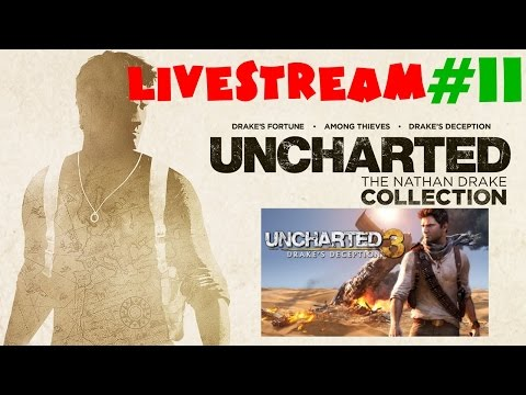 Uncharted: The Nathan Drake Collection - Drake's Deception - Livestream #11 - Rumo a Platina/100%