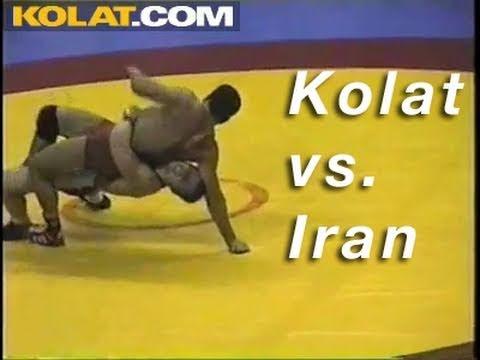 Cary Kolat vs. Iran KOLAT.COM Wrestling Techniques Moves Instruction