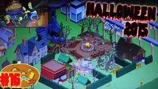 """Los Simpson Springfield """"Halloween'15: Cap. 16 - La Sede Oficial de Halloween y más"""" por Tony"""