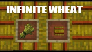 INFINITE WHEAT FARM TUTORIAL - Minecraft Quark Mod