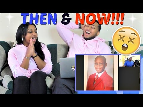 YOUTUBERS THEN AND NOW REACTION!!!