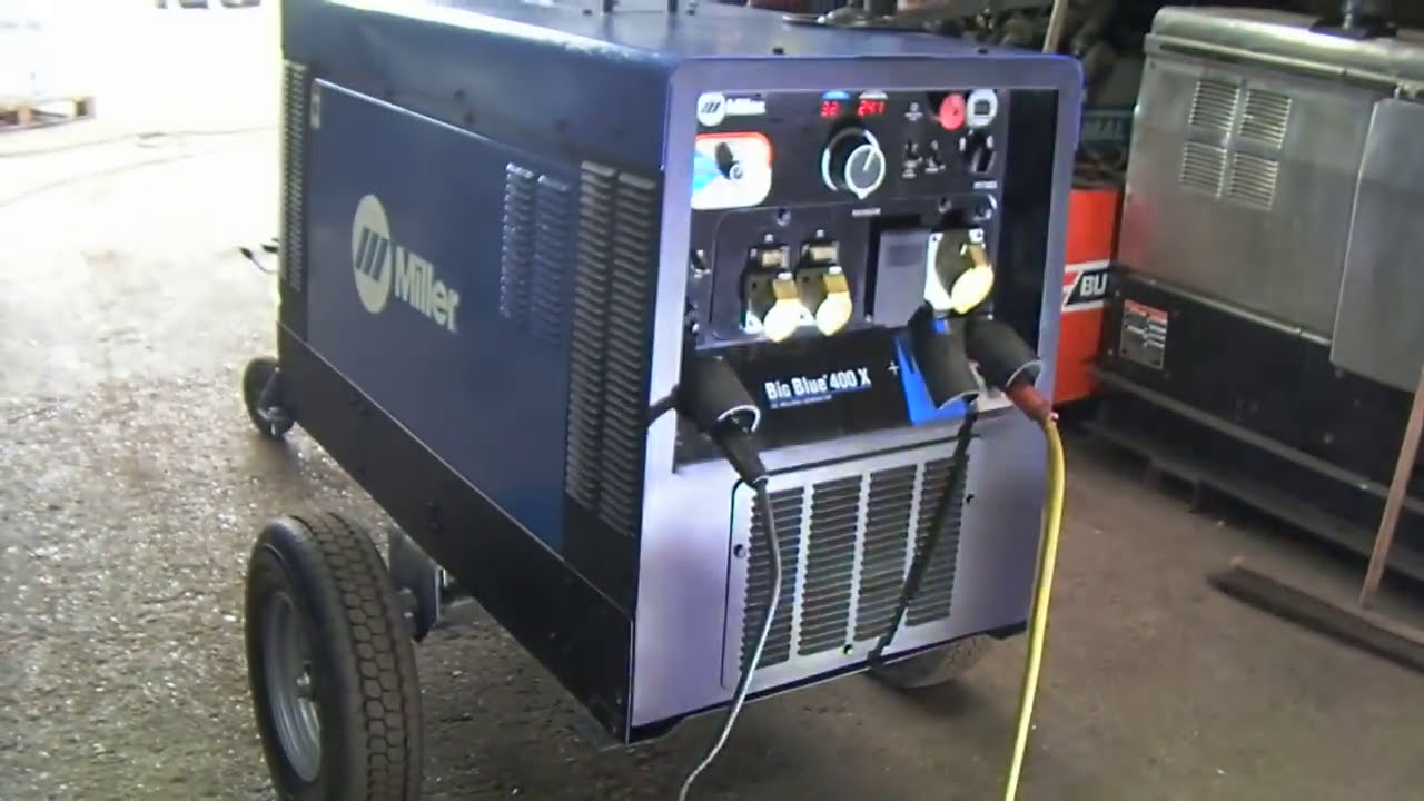 Miller Big Blue 400 X Diesel Welding Generator For Sale At