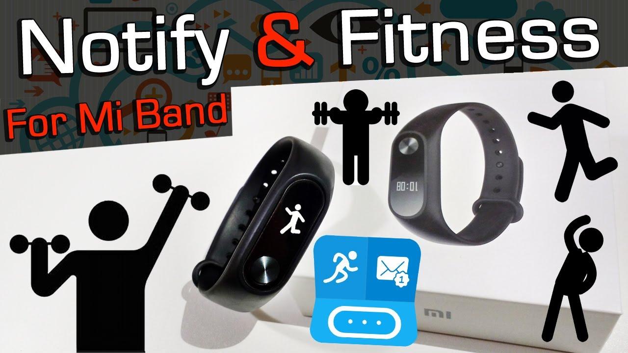 Notify & Fitness for Mi Band EXERCÍCIOS Mi Band 2