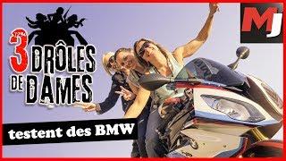 Essais BMW : Des motos pour les filles ? MOTO JOURNAL