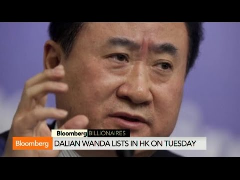China's Wang Jianlin Climbs Up the Asia Billionaire's List - YouTube