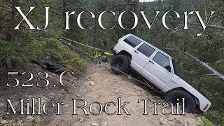 Colorado 4x4 Rescue and Recovery - Memorial Day Jeep XJ - Miller Rock Trail