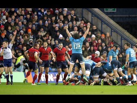 Scotland v Italy, Official Short Highlights Worldwide, 28th Feb 2015