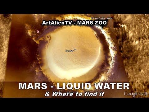 LIQUID WATER LAKES ON MARS: Hot Spring Lake ? ArtAlienTV - 1080p
