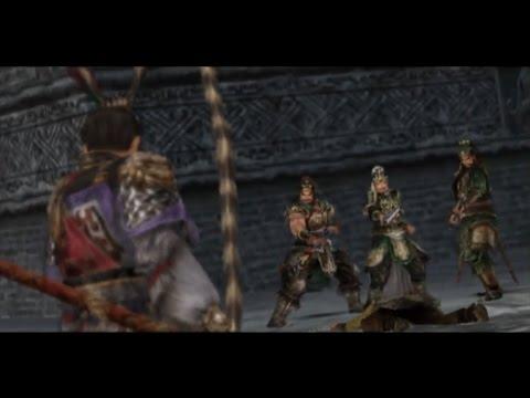 Dynasty Warriors 5 - Lu Bu Musou Mode Part 2 - Battle of Hu Lao Gate (Chaos Difficulty)