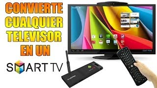 ¿Como convertir cualquier televisor en un SMART TV? | Analisis de Stick LEOTEC y Air Mouse UNOTEC
