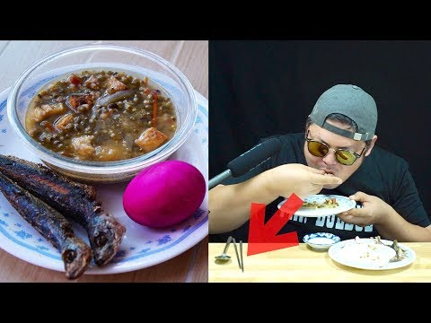Korean Tries Filipino Home Foods with Barehands That Tourists Never Do.