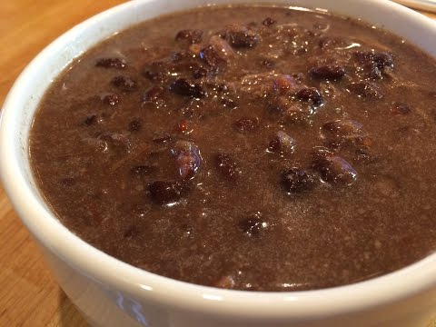 Black Bean Soup For The Crock Pot - A Tasty Thursday Video