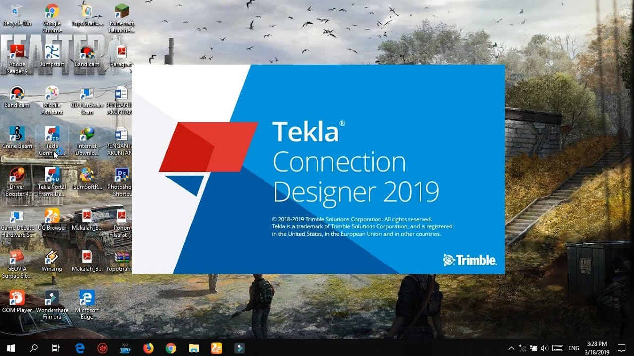 How To Install Trimble Tekla Portal Frame Connection Designer 2019 v19 0 0