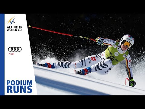 Viktoria Rebensburg | Ladies' Super-G | Soldeu | Finals | 1st place | FIS Alpine