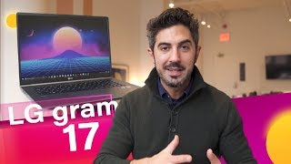LG gram 17 Review: Very Large, Very Light, and Near Perfect