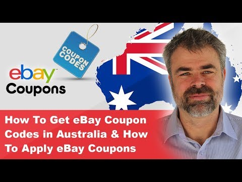 How To Get EBay Coupon Codes In Australia & How To Apply EBay Coupons
