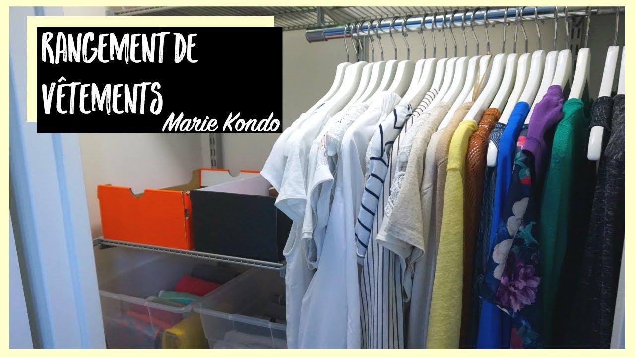 RANGEMENT DE GARDE-ROBE : Méthode KonMari | Harmony Lu - YouTube